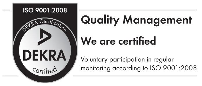 DEKRA Certificat