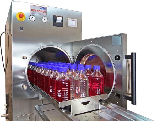 Autoclave sterilizer laboratory